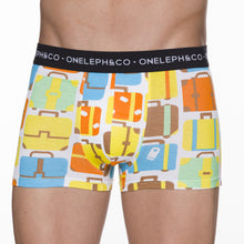 Load image into Gallery viewer, Travel Men's Printed Trunks Pack of 3