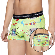 Load image into Gallery viewer, Music Men's Printed Trunks Pack of 3
