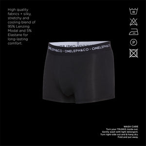 Plain Men's Printed Trunks