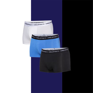 Plain Men's Printed Trunks Pack of 3