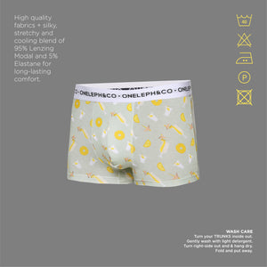 Pina Colada Men's Printed Trunk