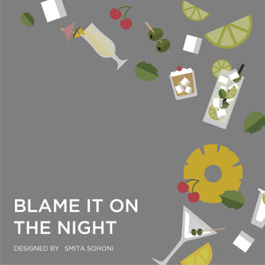 Blame it on the Night Men's Printed Underwear