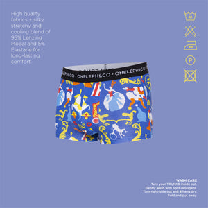 Gala Men's Printed Trunks