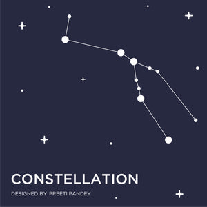 Constellation Men's Printed Trunks