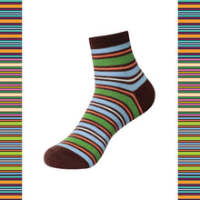 Load image into Gallery viewer, STRIPES 1 Men's Ankle Length Socks Pack of 3