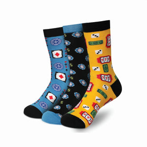 CASINO Men's Calf Length Socks Pack of 3