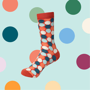POLKA DOTS Men's Calf Length Socks Pack of 3