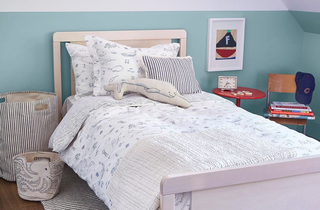 Life Aquatic Kids Bedding