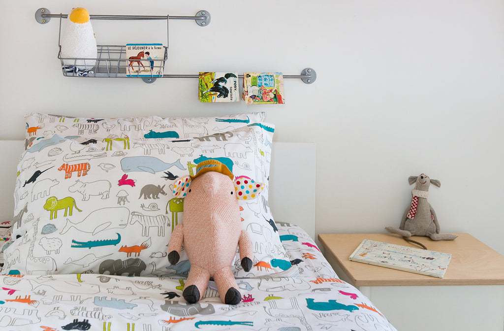 Noah's Ark Kids Bedding