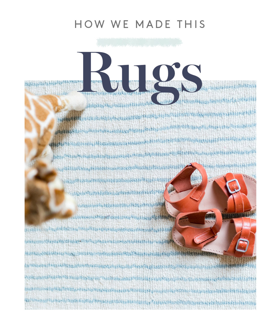 How we make this - Rugs