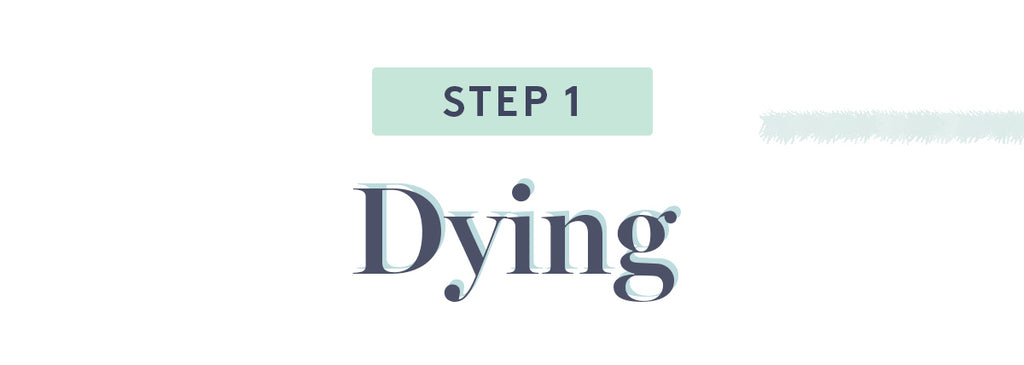 Step 1 Dying
