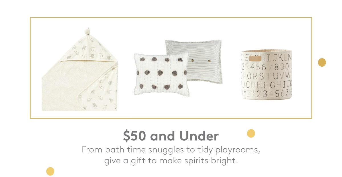 Baby & Toddler Gifts under $50