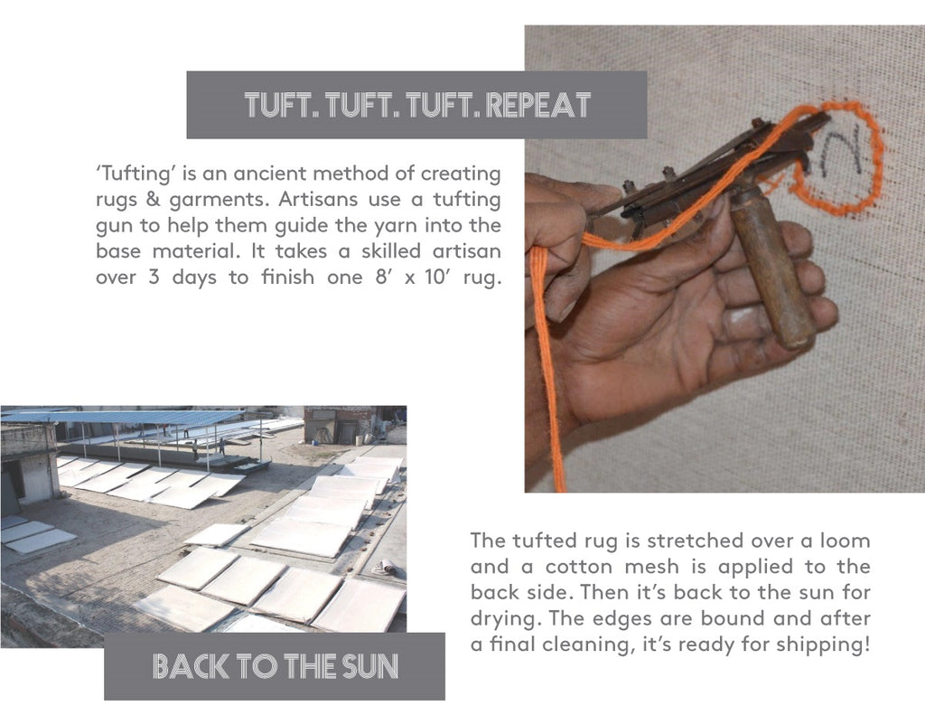 Tuft Tuft Repeat How Our Rugs Are Made