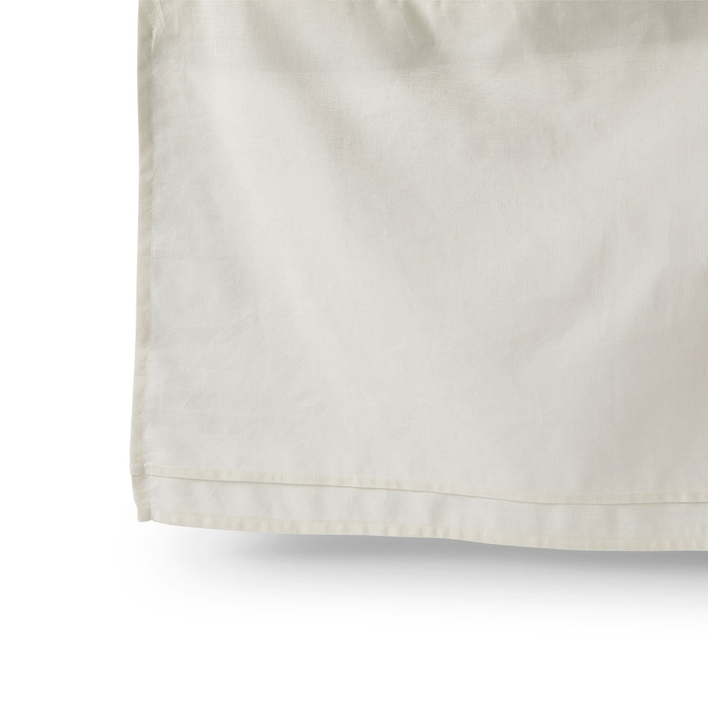 Cotton Linen Crib Skirt