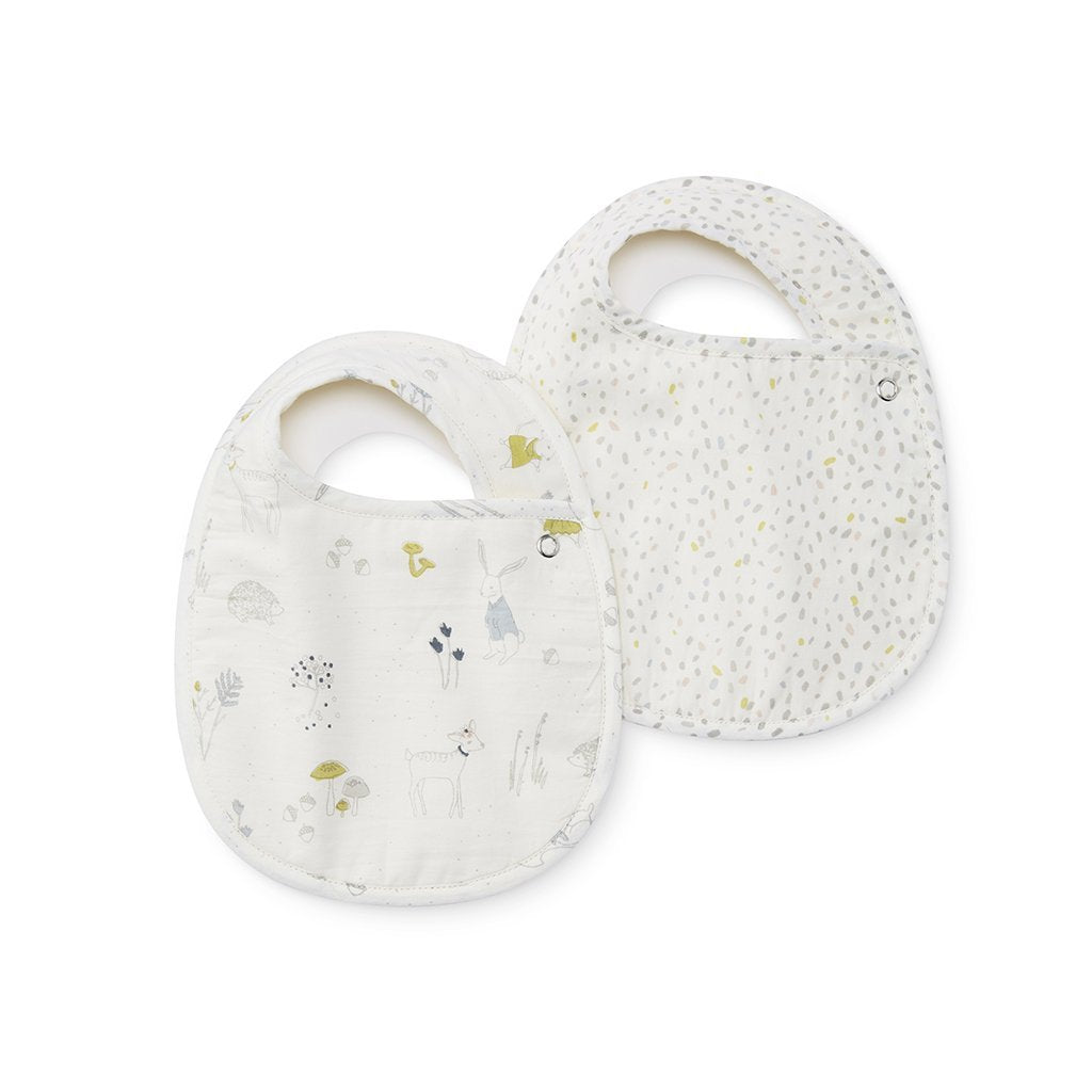 Magical Forest & Multi Speck Bibs, Set of 2