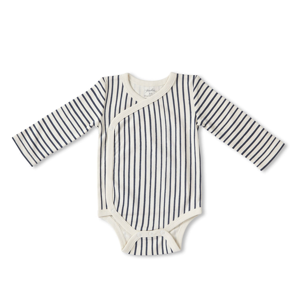 Stripes Away Kimono One-Piece Ink