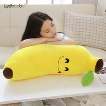 Load image into Gallery viewer, Funny Creative Cartoon Banana Stuffed Soft Pillow Sofa Cushion Baby Lovely Plush Doll Kids Fruit Toys Children Birthday Gifts