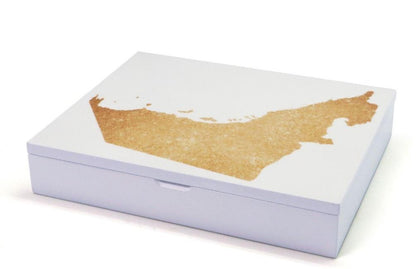 Liwa Uae Map Gift Box Premium Plain Dates
