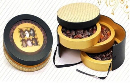 Liwa Ghattara Gift Box Premium Mix Dates