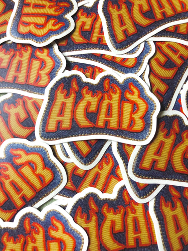ACAB patch stickers