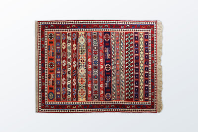 Varni Needle texture Zarocharak 78×101 Cm - Wool Persian Carpet