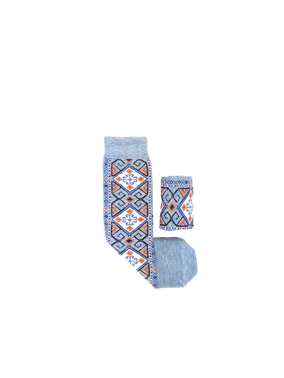 Viscose and Wool Unisex Socks - Wool Persian Carpet
