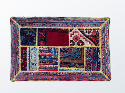 Mat Patchwork 58×89 cm - Wool Persian Carpet