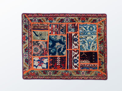Mat Patchwork 65×84 cm - Wool Persian Carpet