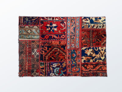 Mat Patchwork 60×89 cm - Wool Persian Carpet