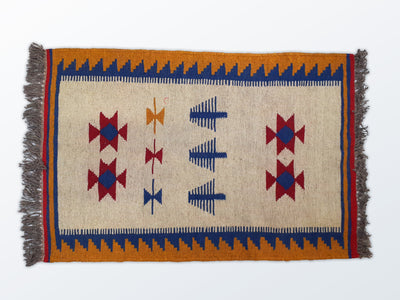 Mat Kilim 67×100 cm - Wool Persian Carpet