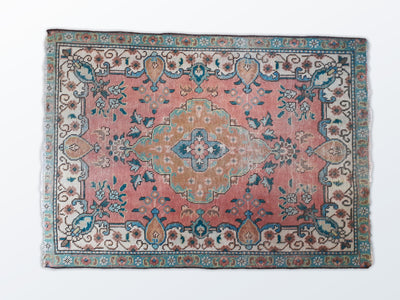 Tabriz Vintage Zaronim 100×138 cm - Wool Persian Carpet