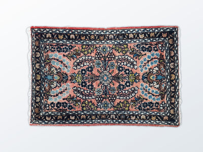 Tabriz Mat Vintage 59×87 cm - Wool Persian Carpet