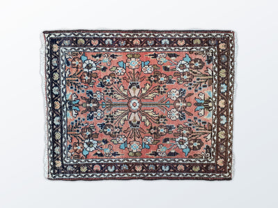 Tabriz Mat Vintage 65×81 cm - Wool Persian Carpet