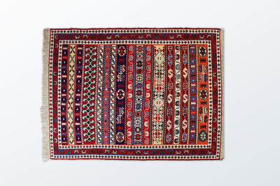 Varni Needle texture Zarocharak 78×102 Cm - Wool Persian Carpet