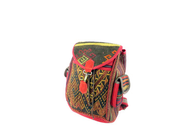 Wool Backpack - Wool Persian Carpet