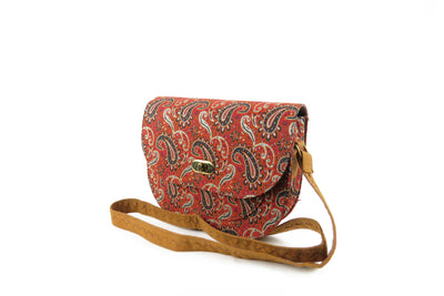 Women's Saddle Bag - Wool Persian Carpet