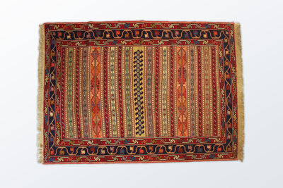 Varni Needle Texture Zaronim 106×146 cm - Wool Persian Carpet