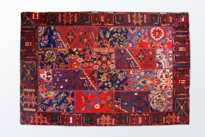 Tabriz Patchwork 163×234 cm - Wool Persian Carpet