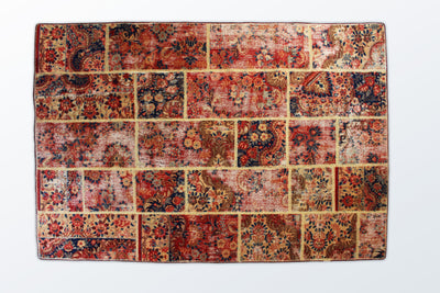 Tabriz Patchwork 145×211 cm - Wool Persian Carpet