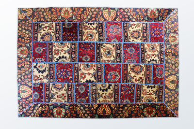 Tabriz Patchwork 150×200 cm - Wool Persian Carpet