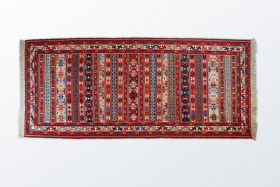 Varni Needle texture Runner 85×195 Cm - Wool Persian Carpet