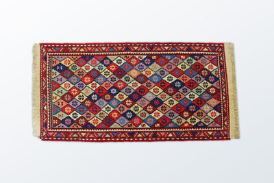 Varni Needle texture Zarocharak 53×104 Cm - Wool Persian Carpet