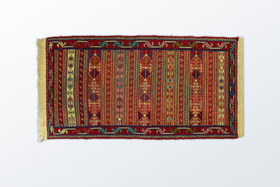 Varni Needle texture Zarocharak 52×97 Cm - Wool Persian Carpet