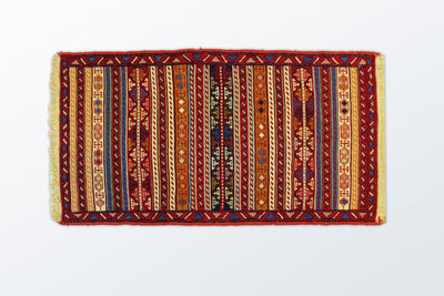 Needle texture Zarocharak 51×95 Cm - Wool Persian Carpet