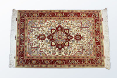 Tabriz Zaronim Heris 102×155 cm - Wool Persian Carpet