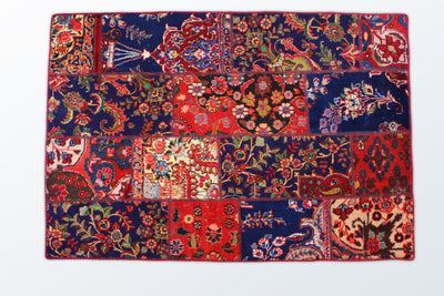 Tabriz Patchwork 118×174 cm - Wool Persian Carpet