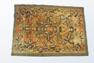 Kerman Vintage 150×210 cm - Wool Persian Carpet