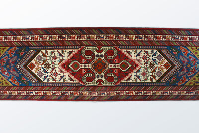 Gonbad Runner 83×297 cm - Wool Persian Carpet