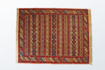 Varni Needle Texture Zaronim 110×142 cm - Wool Persian Carpet