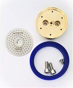 Gaggia Tune Up Kit. IMS Precision Shower Screen, Brass Shower Holder, Silicone Gasket, Screws